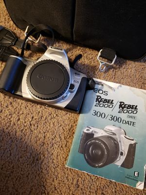 Canon EOS Rebel 2000 Film Camera for Sale in Morgantown, WV