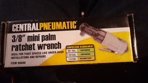 Central pneumatic mini palm ratchet wrench for Sale in Woodburn, OR