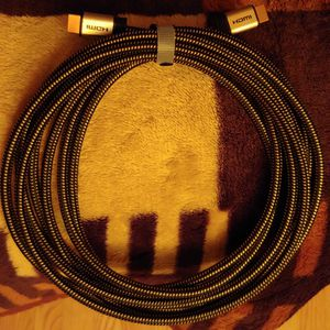 Braided gold-plated high speed HDMI 2.0 cable for Sale in New Britain, CT