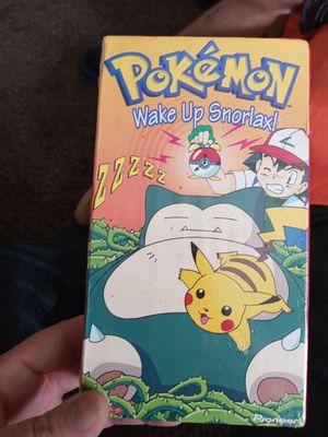 Pokemon wake up snorlax! Eevee, Viz Video, Pionèer, kids for Sale in Texas City, TX