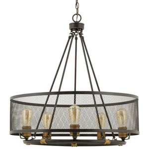 H.D.C. Mayfield Park Collection 5-Light Forged Bronze Dining Table Chandelier for Sale in Dallas, TX