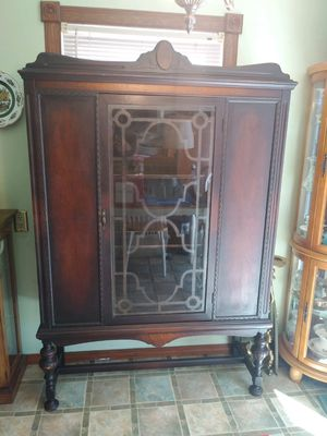 Solid wood hutch for Sale in Caldwell, ID