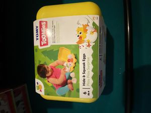Tomy tummies hide and squeak eggs new for Sale in Cable, OH