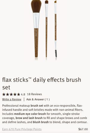 AVEDA flax sticks™ daily effects brush set for Sale in Torrance, CA