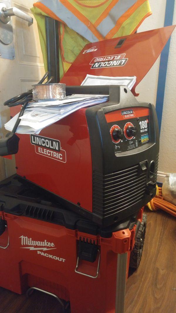 Lincoln Electric Mig/Flux Welder 140hd pak (soldout)