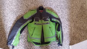 Kawasaki Leather Motorcycle Jacket for Sale in Tulare, CA