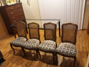 VERY NICE COMFORTABLE FOUR CHAIR'S FOR SALE for Sale in Bellevue, WA