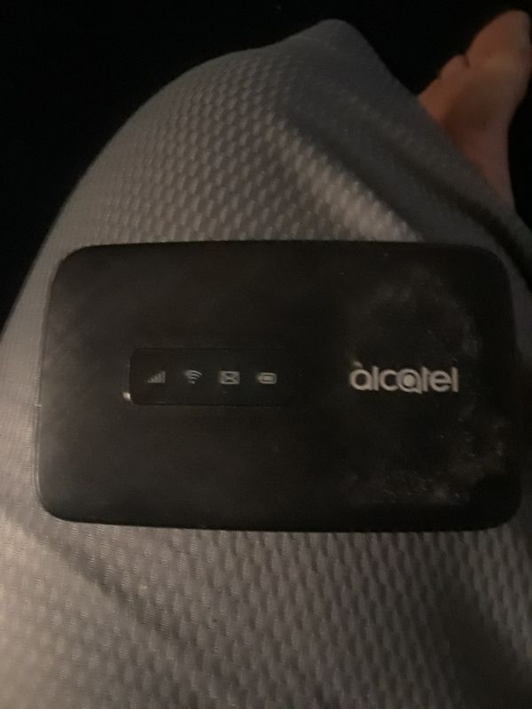 Alcatel hotspot