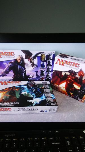 Magic the Gathering Arena of the Planeswalkers board game lot Innistrad Zendikar expansions for Sale in San Diego, CA
