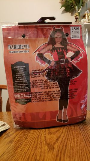 CHILDS EXTRA-LARGE DEVIL COSTUME for Sale in The Bronx, NY