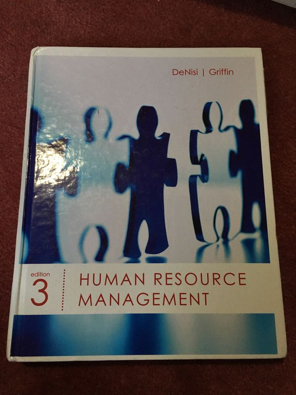 Human Resources Management 3 Ed, DeNisi and Griffin