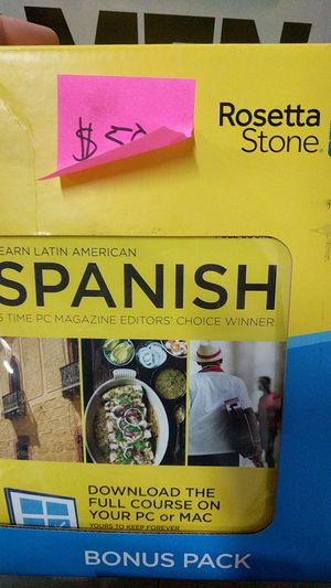 Rosetta Stone Spanish for Sale in Fort Lauderdale, FL