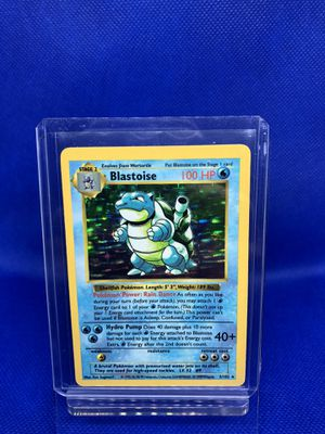 Pokemon Cards - Base Set Shadowless - Blastoise for Sale in Winter Garden, FL