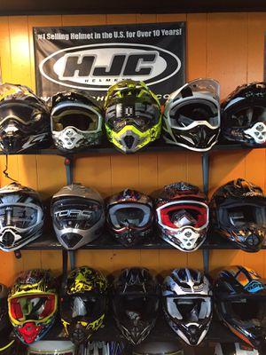 New off road dirt bike motorcycle helmet s $85 and up for Sale in Santa Fe Springs, CA