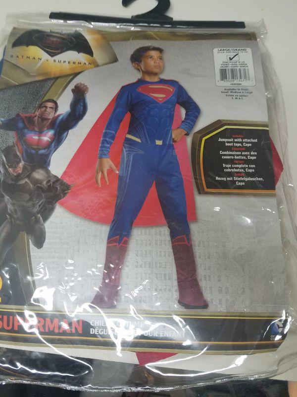 Superman custome for kids.