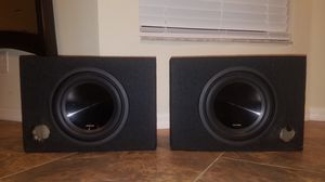 "2 Alpine 10"" sub SWT-10S4 4 OHM speakers for Sale in Lehigh Acres, FL"