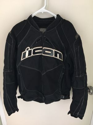Icon motorcycle jacket (medium) for Sale in HUNTINGTN BCH, CA