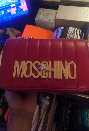 Moschino Luxury Leather Bag for Sale in Conyers, GA