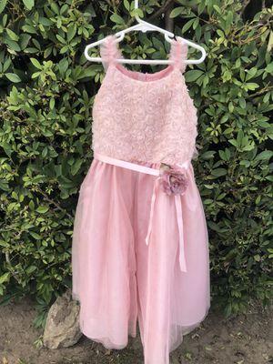Girls Pink Tulle Flower Dress for Sale in Fullerton, CA