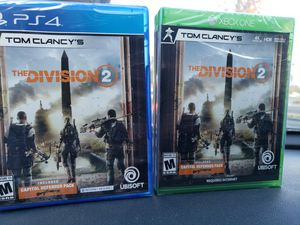 The divison 2 xbox and ps4 for Sale in San Jose, CA