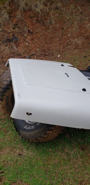 90 jeep wrangler hood and tires for Sale in Greenville, SC