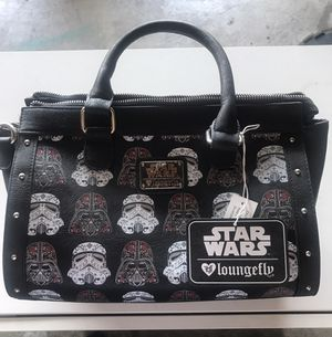 Disney Loungefly Star wars stormtrooper skull bag. for Sale in Fontana, CA