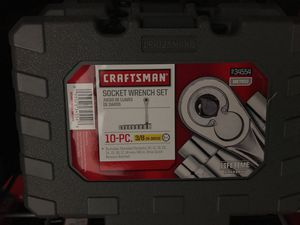 Craftsman 3/8 metric socket wrench set for Sale in Houston, TX