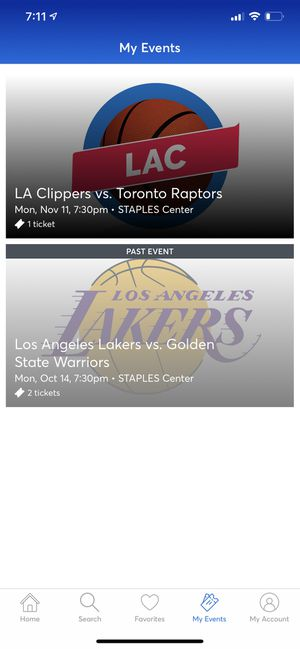 Clippers tickets regular season for Sale in San Diego, CA