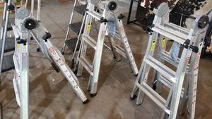 Adjustable ladder for Sale in Dallas, TX