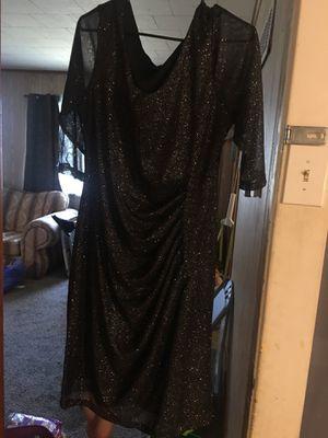Black wedding dress for Sale in Kanopolis, KS