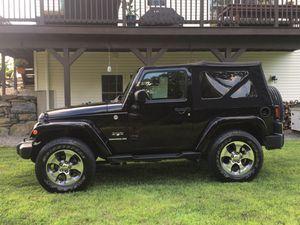 2016 Jeep Wrangler Sahara Hard/Soft Top for Sale in Bolton, MA