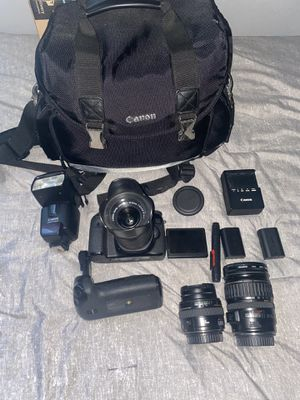 Canon 70D bundle for Sale in Santa Clara, CA