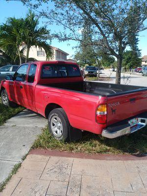 Toyota tacoma 2003 clean title 4 cl 2.4 l auto for Sale in Miami, FL