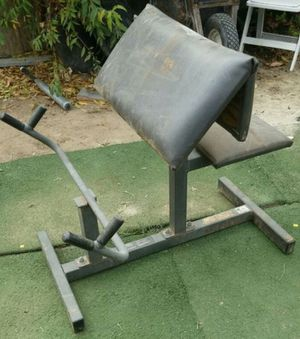 CURL BAR STATION WEIGHT BENCH for Sale in San Diego, CA