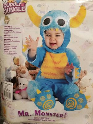 Mr Monster costume sets for baby 6-12mos for Sale in Chula Vista, CA