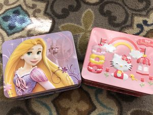 Puzzles in Keepsake Lunchbox for Sale in San Jose, CA