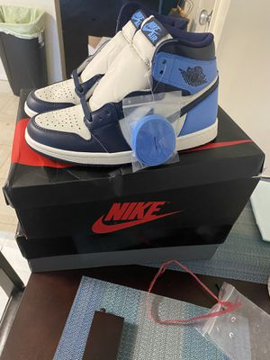 Jordan 1 retro obsidian size 7.5 for Sale in Baltimore, MD