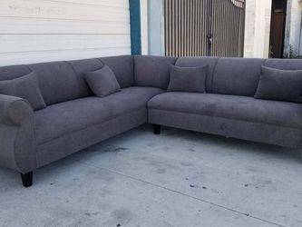 NEW ANNAPOLIS GRANITE FABRIC SECTIONAL COUCHES for Sale in Chula Vista,  CA
