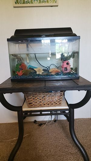 Light up fish tank for Sale in Shelbyville, TN