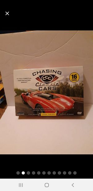 Rare Chasing Classic cars 16 dvds brand new for Sale in DeFuniak Springs, FL
