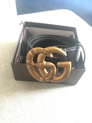 Gucci Belt Snake Buckle Size 38/95 for Sale in Sugar Land, TX