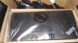 Lenovo type c dock station make offee or trade for laptop for Sale in Fresno, CA