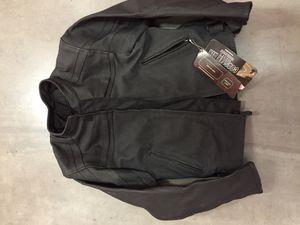 NEW Cortech Latigo Small Black Armored Motorcycle, Leather Jacket for Sale in Altadena, CA