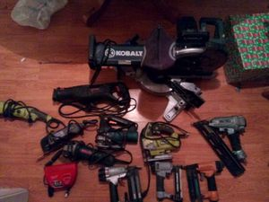 Saws,nail guns ,grinders,chargers for Sale in Houston, TX