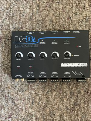 Audiocontrol LC8i 4 channel equalizer for Sale in San Diego, CA