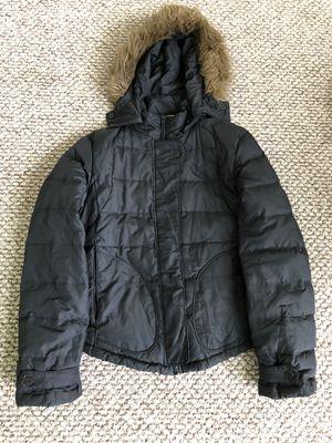 Calvin Klein Women's Black Down Puffer Puffy Jacket Coat with Hood- Sz Medium for Sale in Washington, DC
