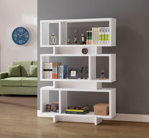White Bookshelve unit