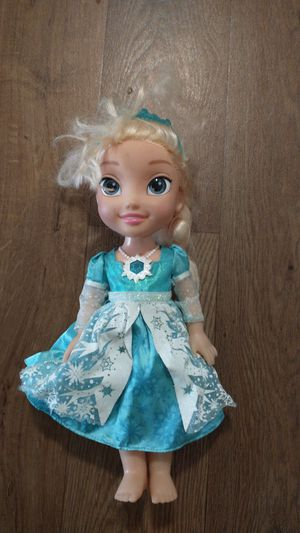 Princess Elsa talking and singing doll for Sale in Fontana, CA