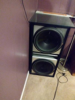 Two 15 inch sub for Sale in North Saint Paul, MN