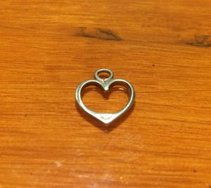 925 silver heart charm for Sale in Portland, OR